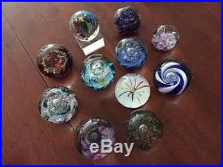 Glass Paperweights Selkirk collection (LOT)