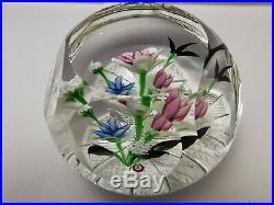 Great ALLAN SCOTT Kendal Posy 1/1 Glass Paperweight