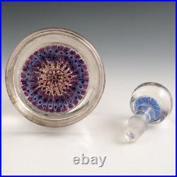 H G Richardson Concentric Millefiori Inkwell c1915