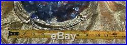 Huge, Heavy Vintage Art Glass Fish Aquarium Paperweight MURANO 10×7.5 Inches