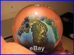 Josh Simpson 3 Seascape Fish Inhabited World Signed + Titled 1996