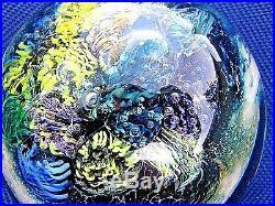 JOSH SIMPSON INHABITED PLANET SPHERE Blues, Cane Spaceship w Bubbles, 2,1995