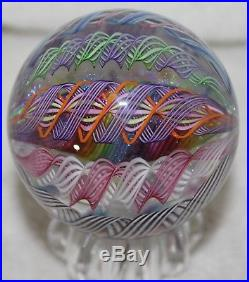 James Alloway Contemporary Art Glass Marble #2479 2-1/2 Inch's -HUGE-