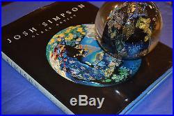 Josh SIMPSON Art Glass Megaplanet