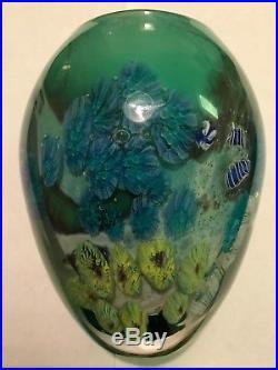 Josh Simpson Planet Vase 5 1/2 tall