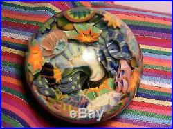 KEVIN O'GRADY Coral Reef Vortex marble'05 (about 4 in dia)