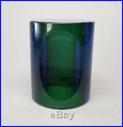 KOSTA BODA Paperweight Mona Morales Schildt Vintage Ventana Art Glass READ