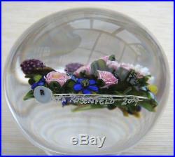 Ken Rosenfeld, Flower-Bouquet, Paperweight, Briefbeschwerer