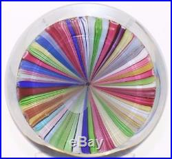 LARGE Fabulous BACCARAT Complex Closepack CHURCH ZODIAC Art Glass PAPERWEIGHT