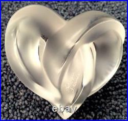 Lalique Entwined Heart Outstanding
