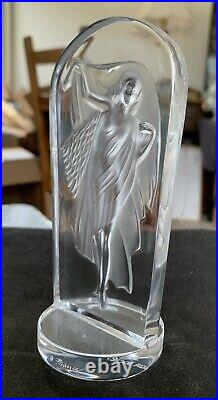 Lalique Society Of America 1990 Hestia Paperweight Statuette Gorgeous with BOX