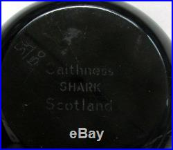 Large rare William Manson Caithness Shark Paperweight Briefbeschwerer