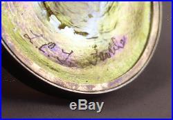 Louis Comfort TIFFANY Favrile Art Glass VICTORY 1918 Medallion