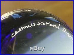 Ltd Ed Caithness QEII Diamond Jubilee Prestige Garland Paperweight(7/30)
