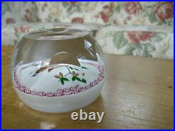 Ltd Ed Caithness William Manson Partridge in a Pear Tree Paperweight(220/500)