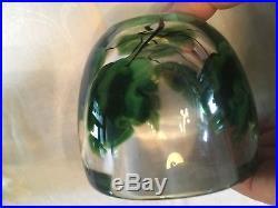Lundberg Art Glass Jar/lid