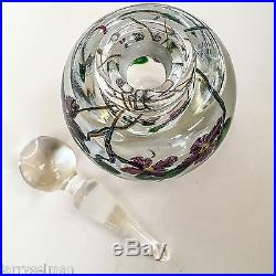Lundberg Studios Paperweight Perfume signed LS/DS 1986