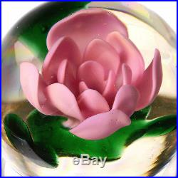 MILLVILLE FOOTED Pink ROSE, Made by Harry Caralluzzo