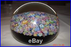 Millefiori Perthshire Paperweights End Of Day Weight 2 3/4 Mint In Box 1999 Coa