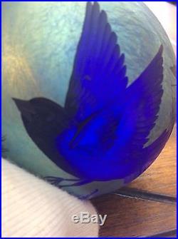 Orient And Flume Paperweight Bird Design