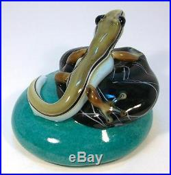 ORIENT & FLUME Retired LIZARD GECKO Glass Paperweight LE #15/300 by Smallhouse