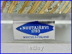 Oiva Toikka Würfel 1980 Art Glass Nuutajärvi Finland