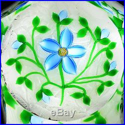 Only 50 Made, PERTHSHIRE 1998 MID YEAR Flower On Lace