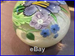 Orient And Flume Signed Paperweight Ed Seaira Rare 1983