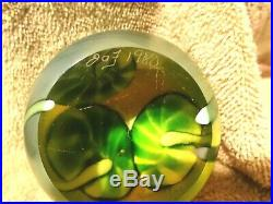 Orient & Flume Art Glass Frog Paperweight- Bruce Sillars-1980 FREE SHIPPING