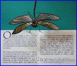 Orient & Flume Dragonfly, #D46 O 1976