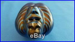 Orient and Flume Gorilla Art Glass Paperweight Signed & Numbered