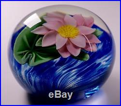 Orient and Flume Studio Art Glass Paperweight Signed Sillars Limited Edition