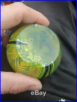 Orient and flume paperweight 1981
