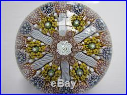 Outstanding Mike Hunter Twists Glass Paperweight Adaggio