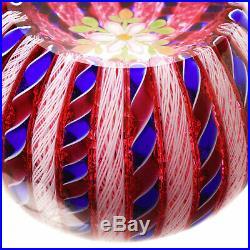 PERTHSHIRE 1996C Overlay Ruby Cutaway Crown, Ltd. Ed