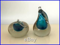 Pair of Murano Art Glass Bookend