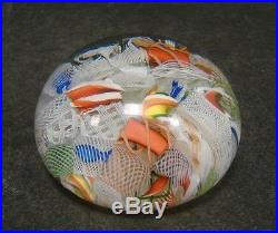Paperweight Baccarat, Mitte 19. Jh. Sog.''End of the day'' oder''Scramble''