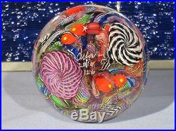 Paperweights Contemporary Art Glass Alloway 3.66nch Dichro Gaffers Revenge#126