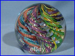 Paperweights Contemporary Art Glass James Alloway 3.08 inch Quadmania #355