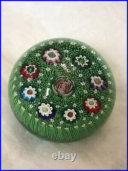 Parabelle Glass Paperweight Signed & Dated PB 1992