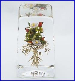 Paul Stankard Original Glass Botanical Rare Early Piece 1993 Best Offer