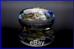 Paul Stankard Original Glass Paperweight Rare Early Piece 1986 Best Offer