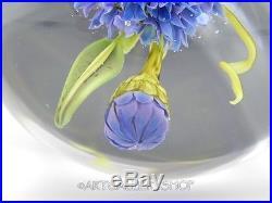 Paul Stankard Studio 2005 Art Glass PAPERWEIGHT By Christine Stankard Kressley