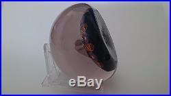 Paul Ysart 1930s Monart Period Closepack Art Glass Paperweight