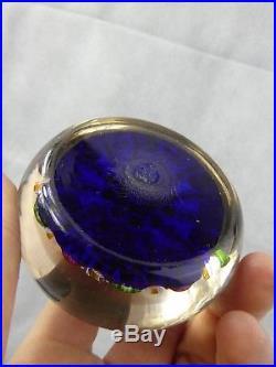 Paul Ysart Paperweight Millefiori Superb Quality Scottish Glass