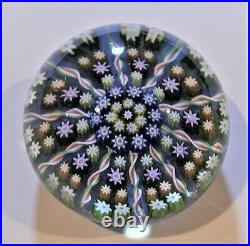 Perthshire 10 Spoke Radial Millefiore Paperweight