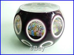 Perthshire 1974 E Annual Edition Faceted Paperweight. Ref. 659