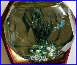 Perthshire 1980 Tropical Fish Limited Edition Paperweight 292
