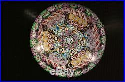 Perthshire 1987 Hexagon Millefiori Paperweight