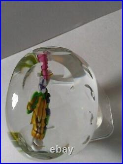 Perthshire 1990f 3 Dimensional Lampwork Bouquet- Complex Faceting Scotland